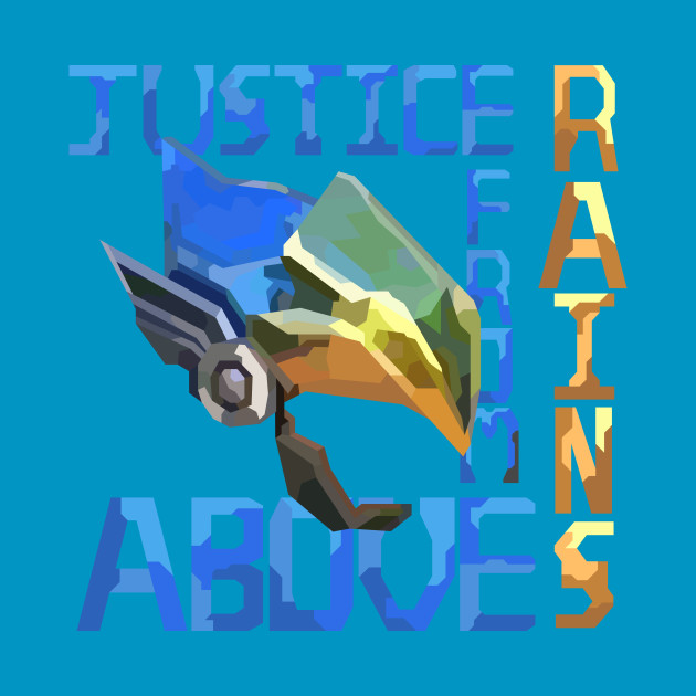 Justice Rains From Above - Pharah Overwatch