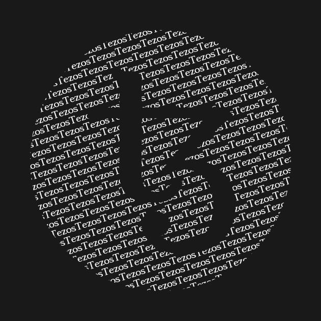 Tezos T-Shirt. Blockchain. Cryptocurrency. Merch