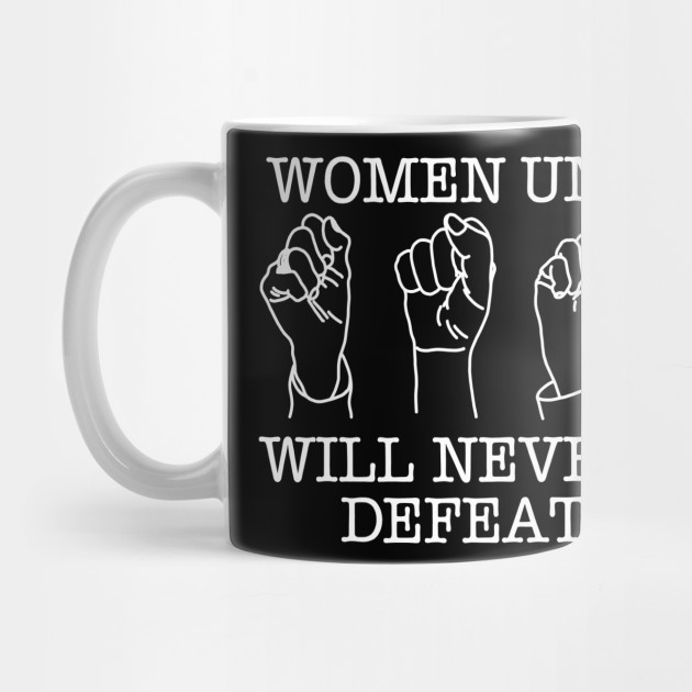 WOMEN UNITED WILL NEVER BE DEFEATED (Ghost Version)