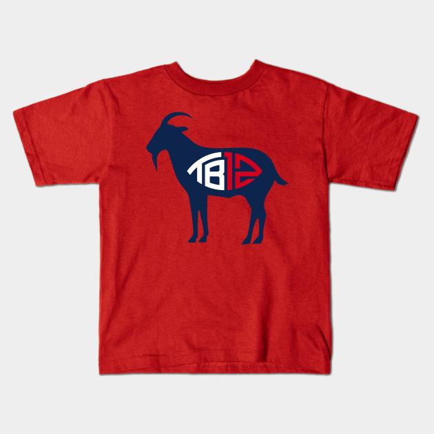 Tom brady TB12 Goat - Tom Brady - Kids T-Shirt  6a0031c46