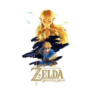 Zelda Breath of the Wild - The Silent Princess t-shirts