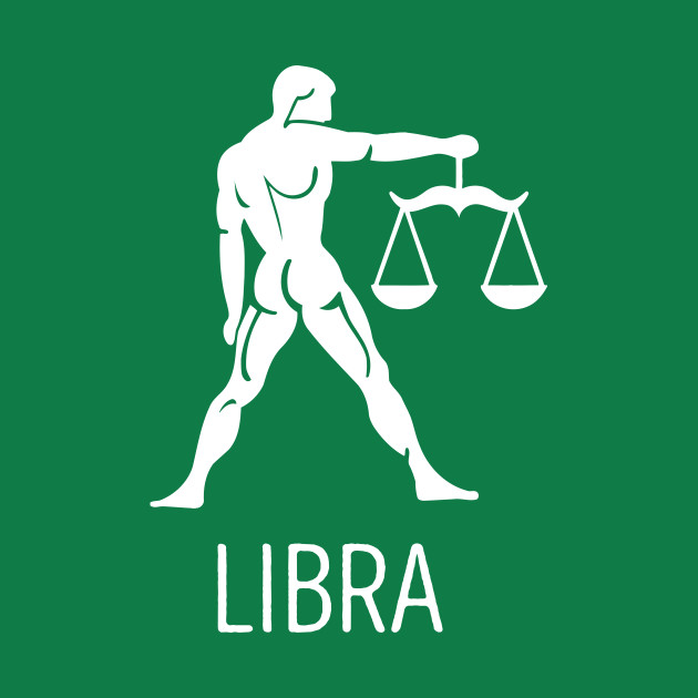 Astrological Zodiac Tee Shirts - Libra the Scales