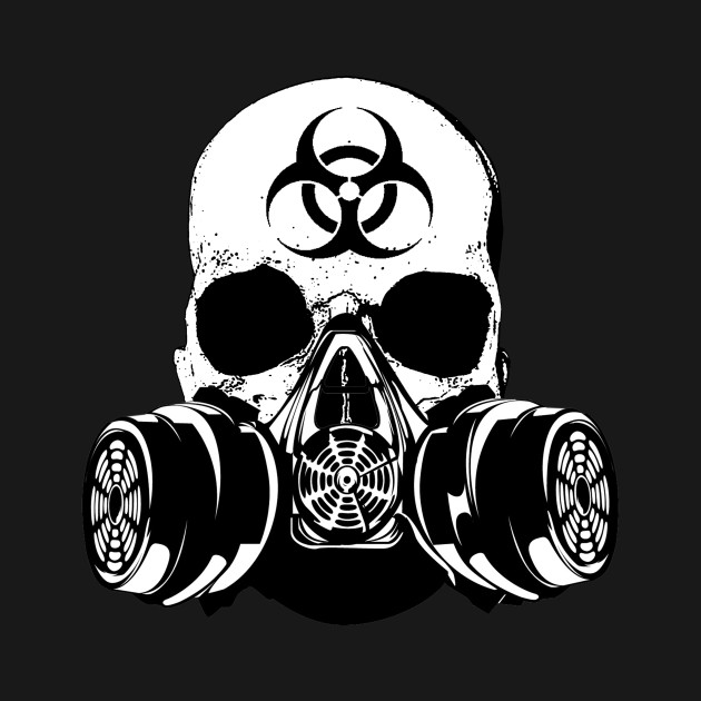 biohazard skull - photo #11
