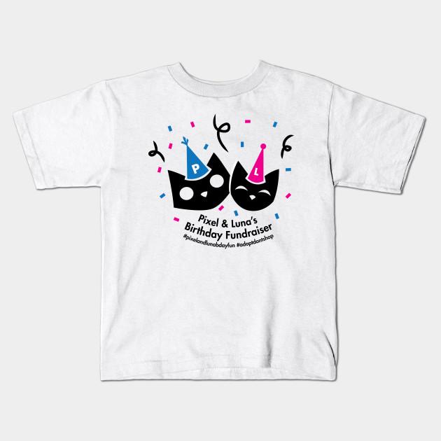 Pixel And Lunas Birthday Celebration Kids T Shirt