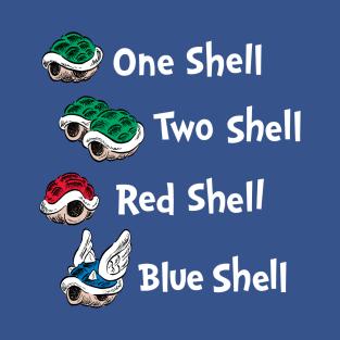 1 Shell 2 Shell t-shirts