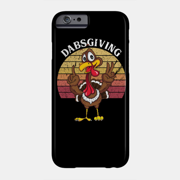 Dabsgiving, Dabbing Turkey Shirt Funny Thanksgiving Turkey Costume Phone Case