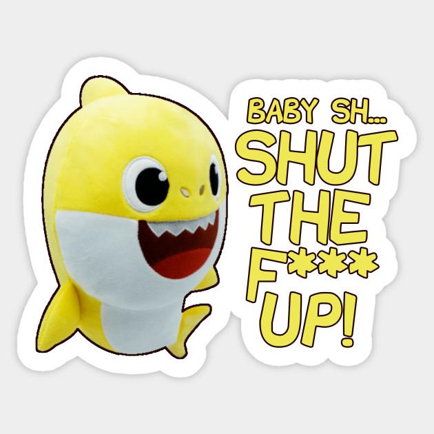 Pinkfong Baby Shark Dance Parody - Baby Shark - Sticker ...