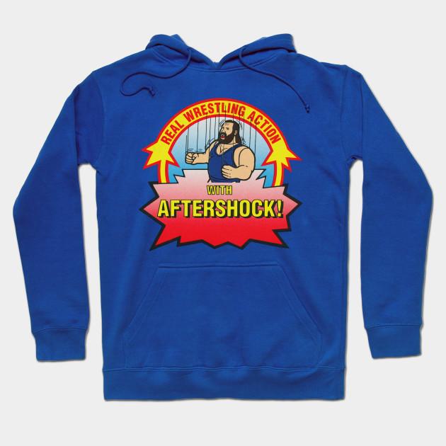 Earthquake  WWF Old Wrestling shirt Hooded SWEATSHIRT HOODIE