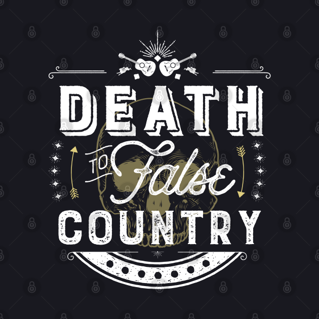 Death to False Country (Text/Light)