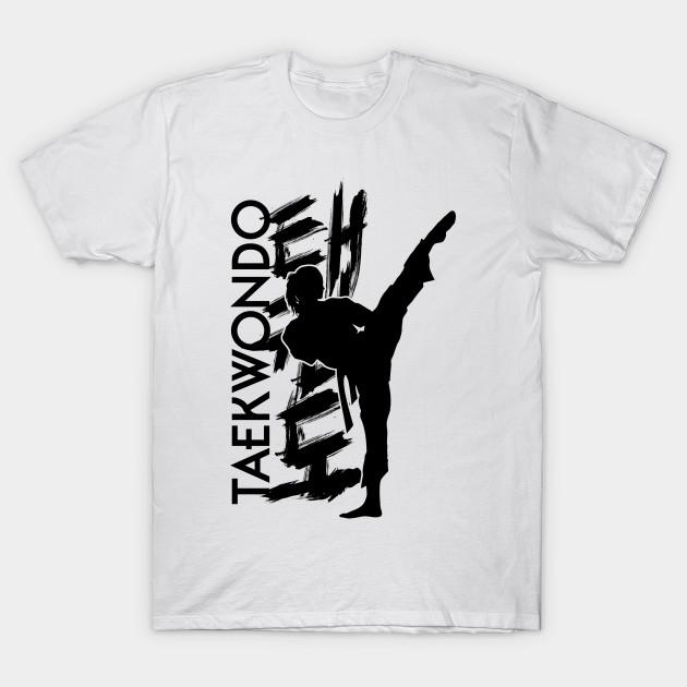 2c96c53ff89b Taekwondo Girl - Korena Martial Art - Taekwondo - T-Shirt   TeePublic