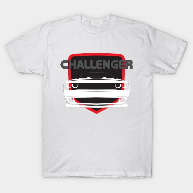 Dodge Challenger T-Shirt V2 White