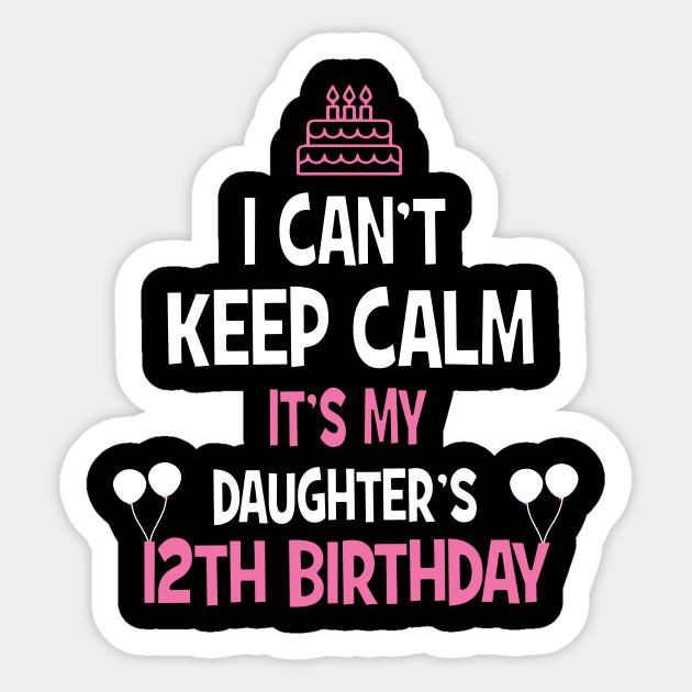 12 Years Old Birthday Girl TShirt Born in 2007 12th Birthday