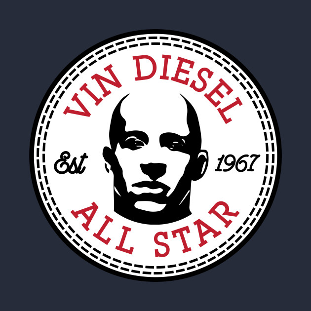 Vin Diesel All Star Converse Logo