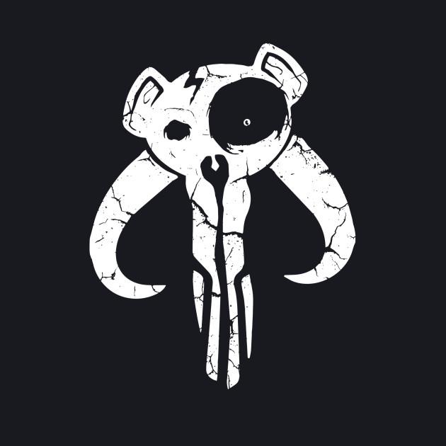 Mando Bear Skull