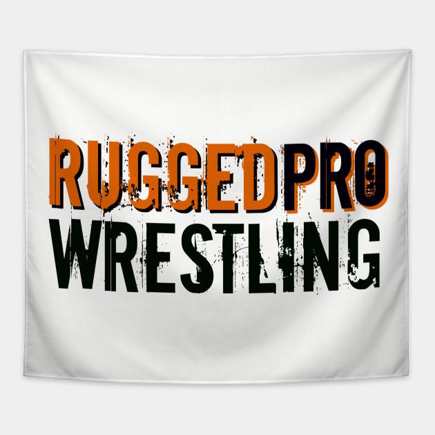 RUGGEDpro black/orange logo