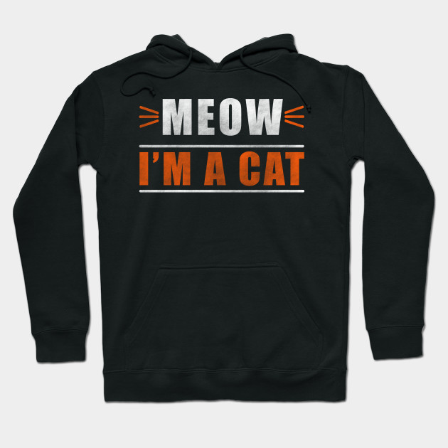 Meow I'm A Cat Halloween Gift