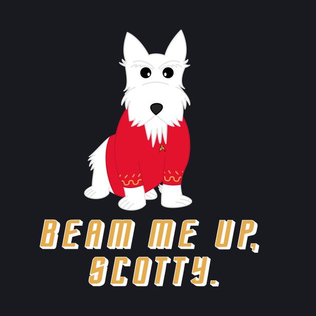 Beam me up, Scotty.