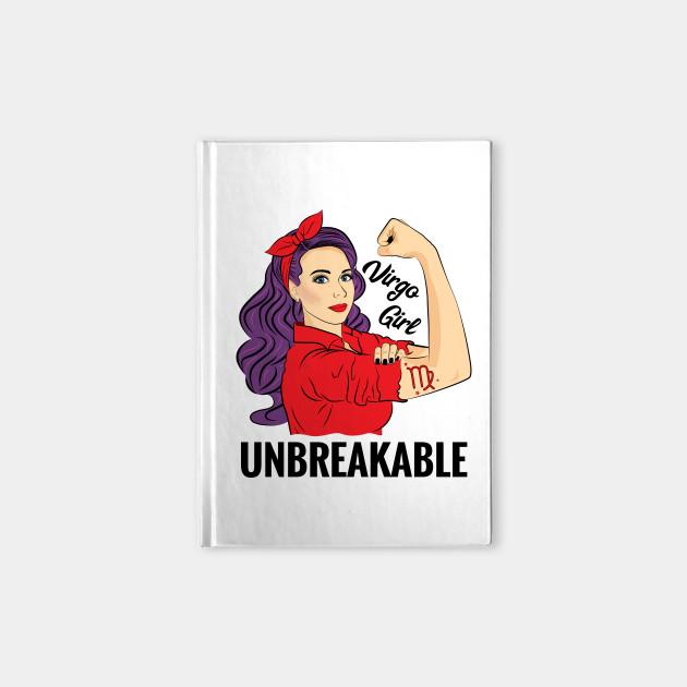 Astrology Virgo Girl Unbreakable