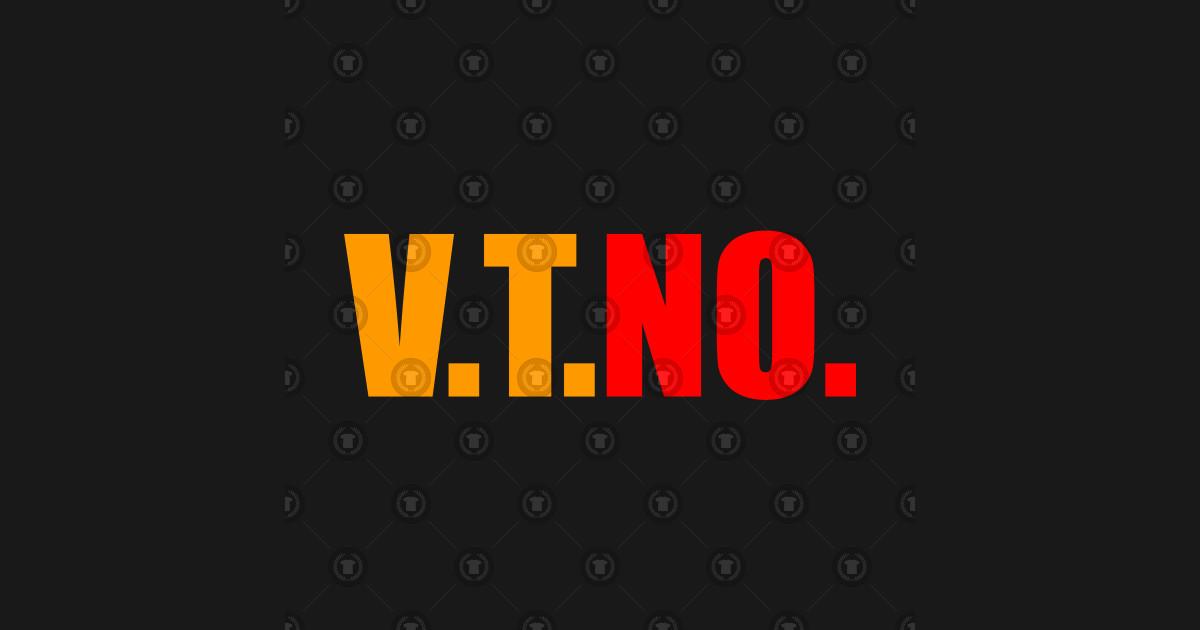 V T No No Vto Design Vto Pillow Teepublic