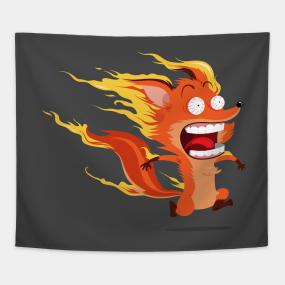Mozilla Firefox Tapestries   TeePublic
