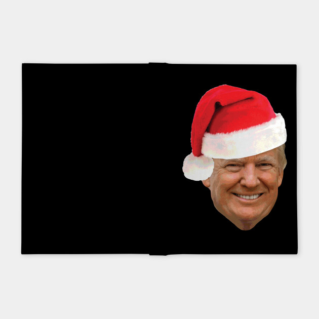 8954f26882ed6 Donald Trump Wearing A Santa Hat Christmas Holiday T-Shirt - Trump ...