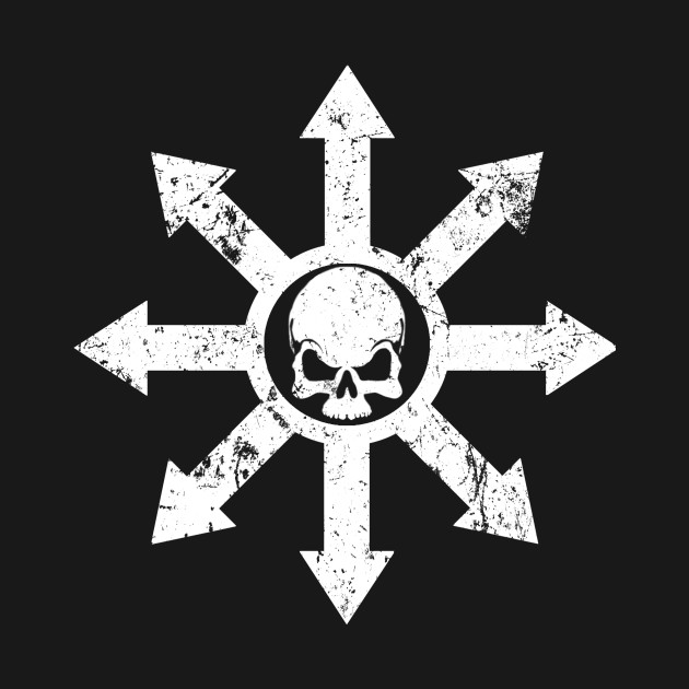 Mark Of Chaos Distressed White