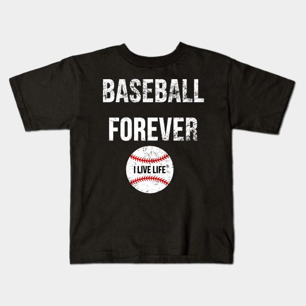 11261076 Vintage Baseball T Shirts Cool Sports Distressed Graphic Tee Kids T-Shirt