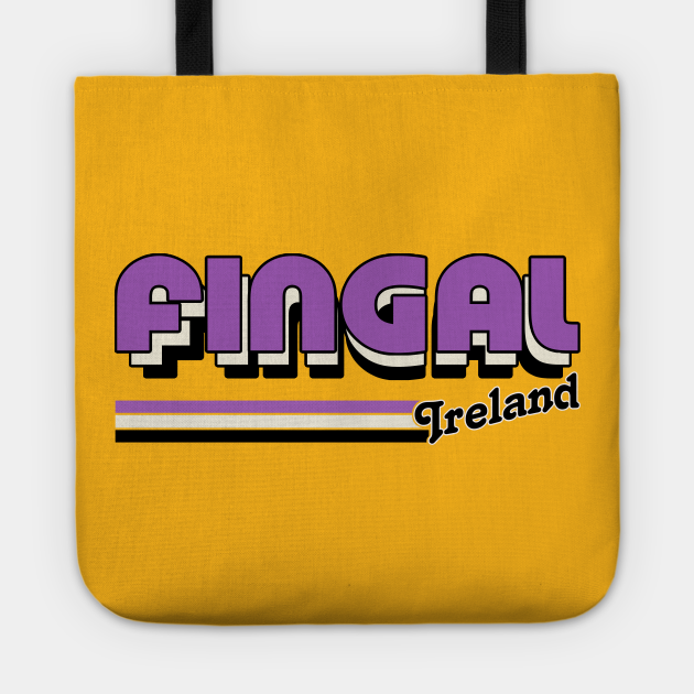 Fingal County Dublin / Retro Style Irish County Design