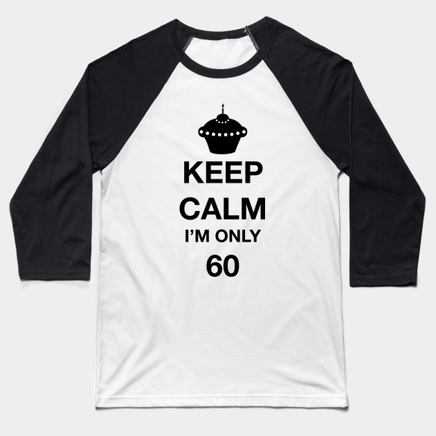 Happy 60th Birthday Baseball T Shirt