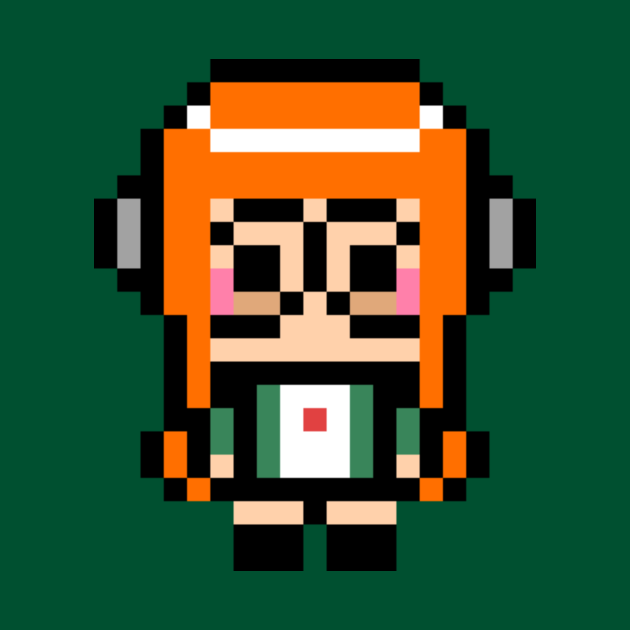 Persona 5 Futaba Sakura 8-Bit Pixel Art Character