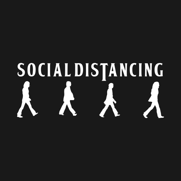 social distancing beatles