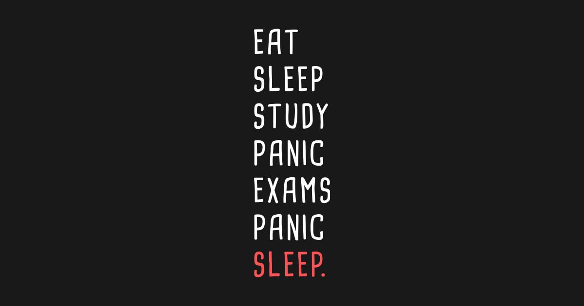 Eat - Sleep - Study | Funny Dental School Quote by meatman