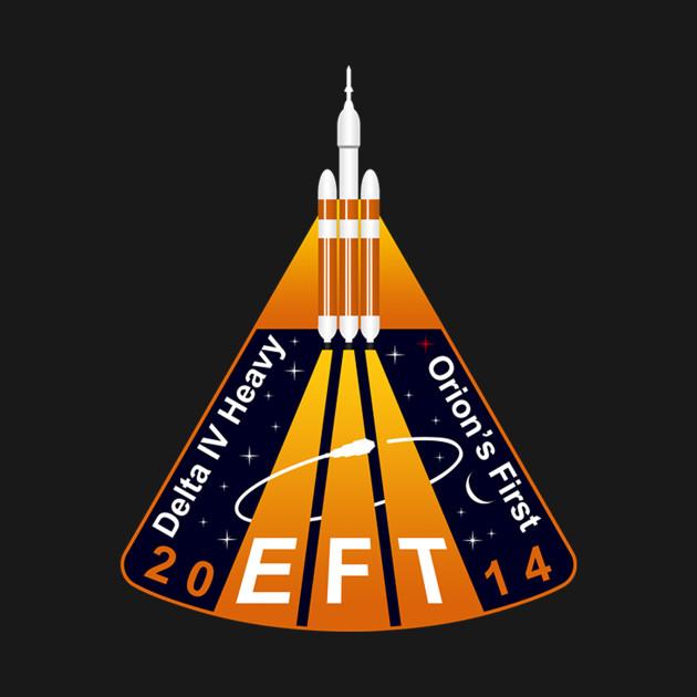 Exploration Flight Test 1 Logo