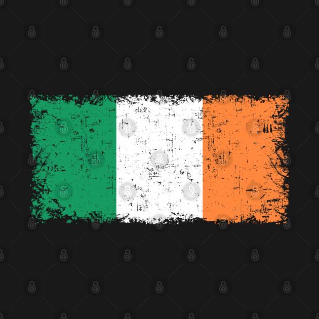 Éire Ireland Flag / emblem, logo, flag, symbol, seal Retro Vintage