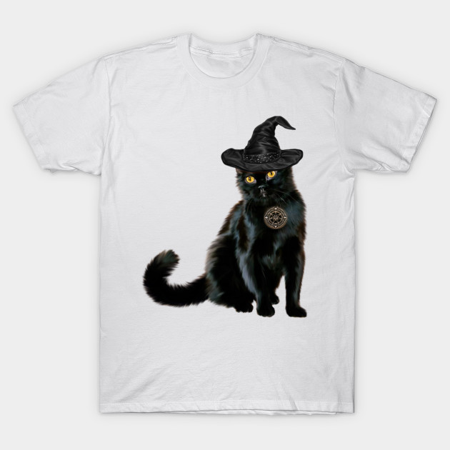 New Kids Cap Sleeve Top Girls Halloween Scary Cat Witch /& Pumpkin Print T Shirt