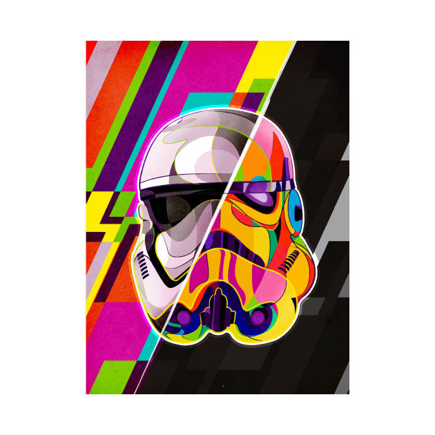 Troopers pop art