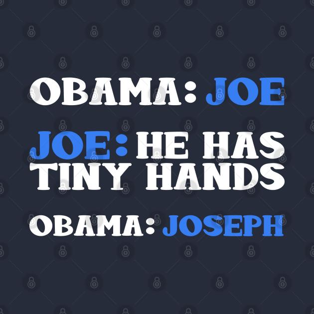 Obama And Joe Biden Bickering Meme T-Shirt