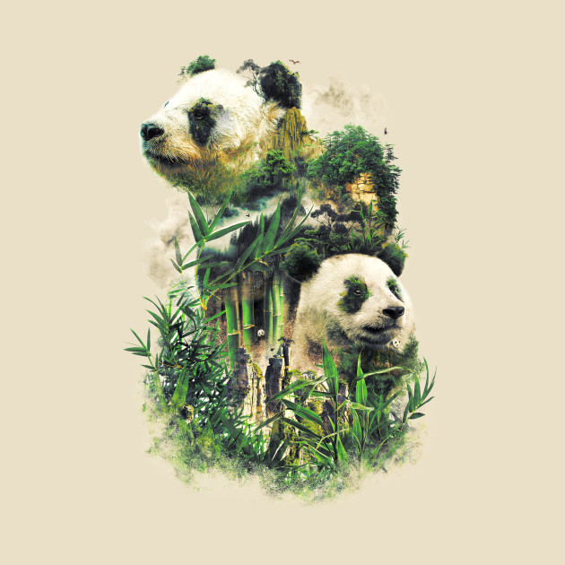 Surreal Panda Power
