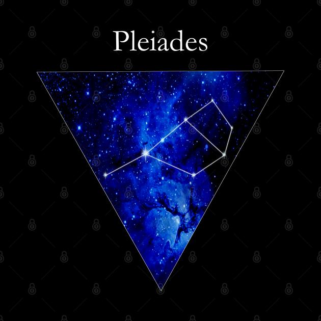 Pleiades Constellation Star Map