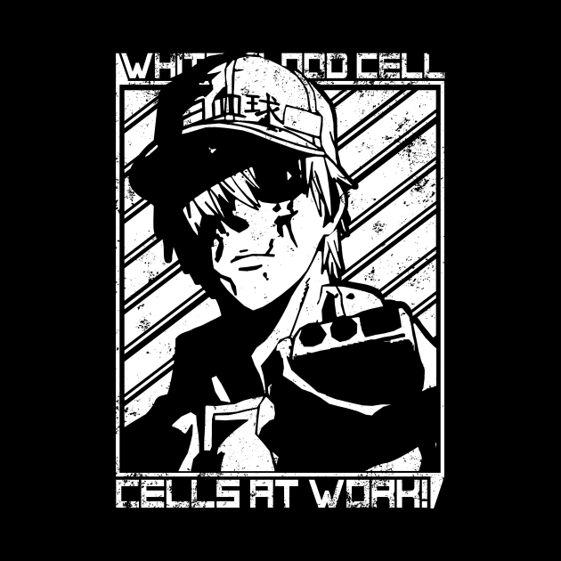 While Blood Cell - Cells At Work | Anime Shirt