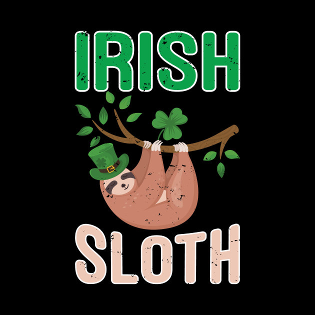 St Patricks Day Sloth