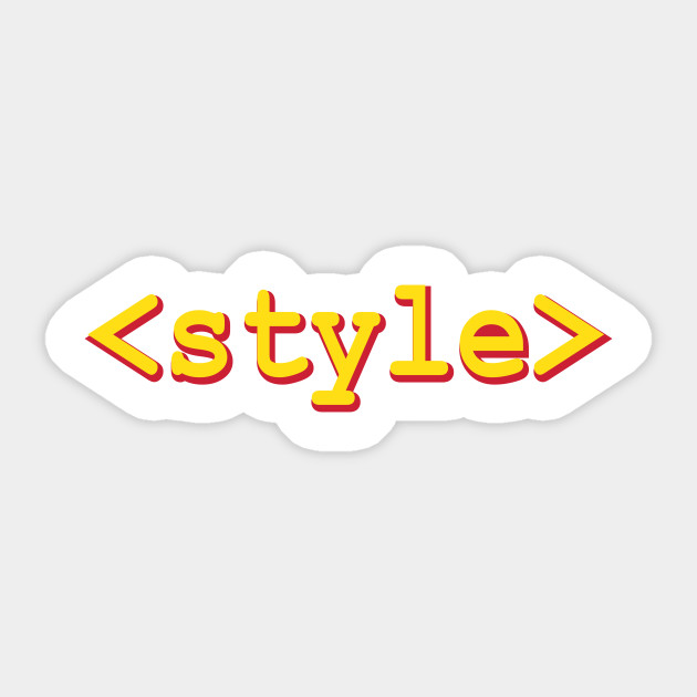 html style tag