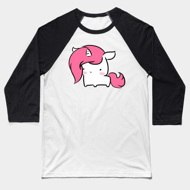 502e21e4df Little Baby Unicorn - Baby Unicorn - Baseball T-Shirt | TeePublic