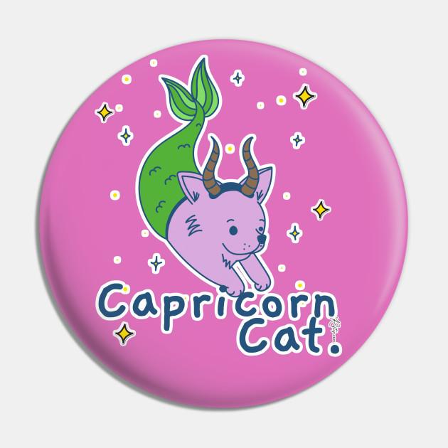 Zodiac Horoscope Capricorn Star Sign Cute Cat