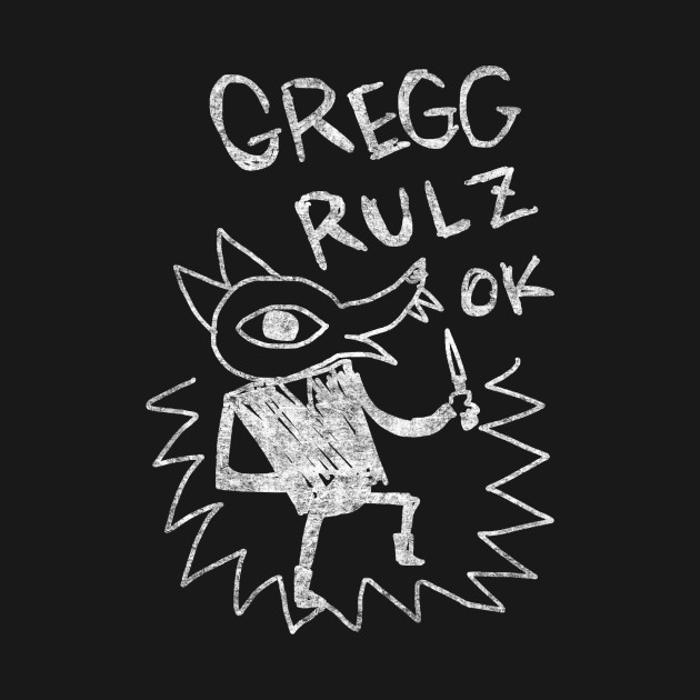 Night In The Woods - Gregg Rulz Ok - White Dirty