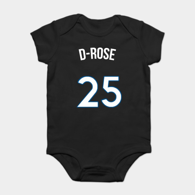 factory authentic 15a15 8b9c2 Derrick Rose 'D Rose' Nickname Jersey - Minnesota Timberwolves