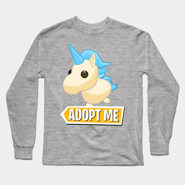 Adopt Me Golden Unicorn Adopt Me Long Sleeve T Shirt Teepublic