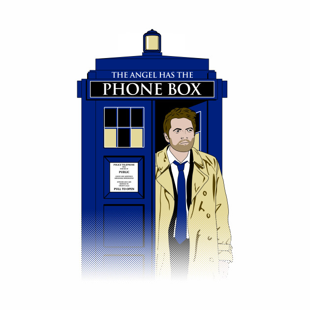 The Angel Has The Phone Box
