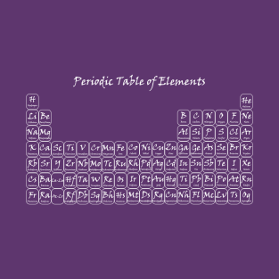 The periodic table of the elements t shirts teepublic periodic table of elements t shirt urtaz Image collections
