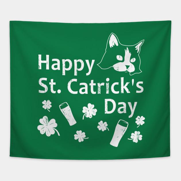 Funny St Patricks Day Shirt Happy St Catricks St Patricks Day